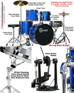 Gammon drum set products